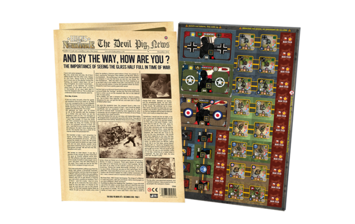 Heroes of Normandie: The Devil Pig News #6 - IELLO