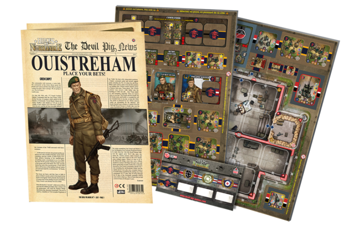 Heroes of Normandie: The Devil Pig News #7 - IELLO