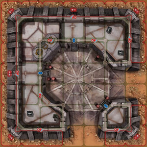 Heroes of Black Reach: Castellum Stronghold - IELLO