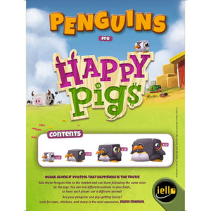 Happy Pigs: Promo Penguins - IELLO