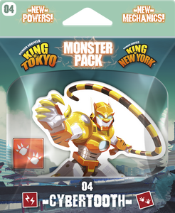 King of Tokyo - Monster Pack #4 Cybertooth - IELLO