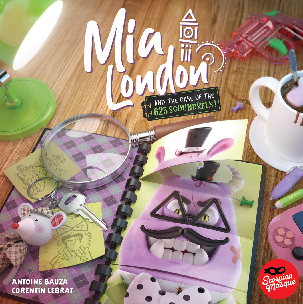 Mia London and the Case of the 625 Scoundrels - IELLO