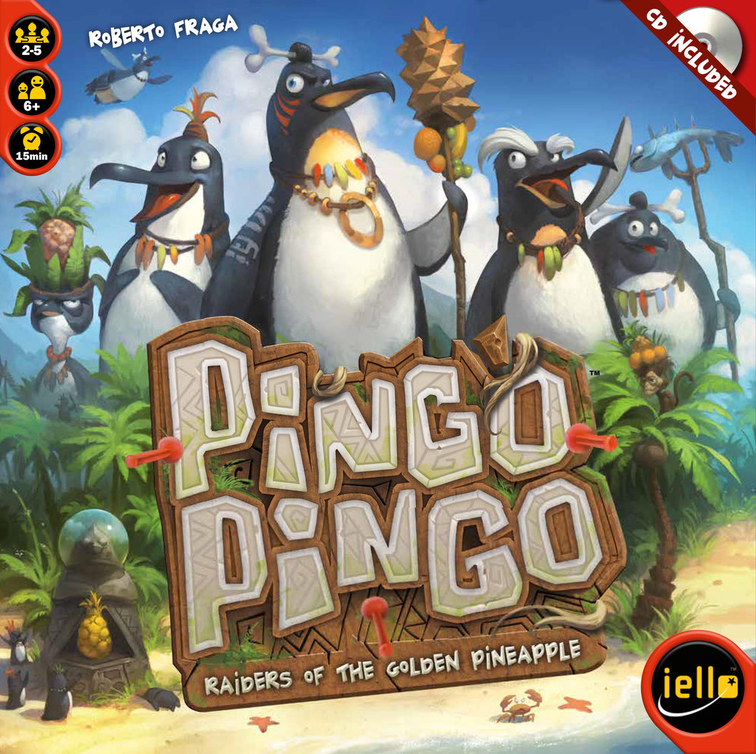 Pingo Pingo: Raiders of the Golden Pineapple - IELLO