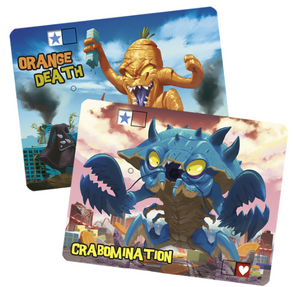 King of Tokyo: Promo Crabomination/Orange Death Pack - IELLO