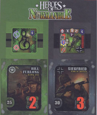 Heroes of Normandie: Bill and Siegfried - IELLO