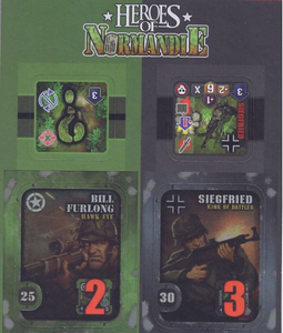 Heroes of Normandie - Bill and Siegfried - IELLO
