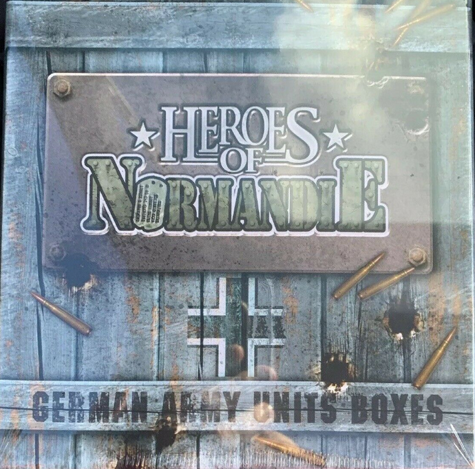Heroes of Normandie: Army Unit Storage Boxes GE - IELLO
