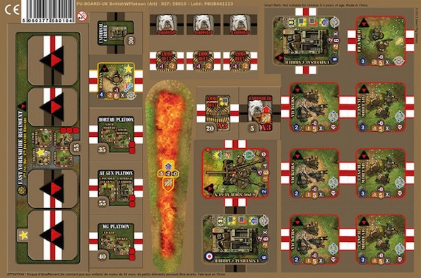 Heroes of Normandie UK Heavy Weapon Platoon - IELLO