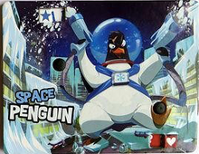 Load image into Gallery viewer, King of Tokyo: Space Penguin Promo Monster - IELLO