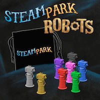 Steam Park: Robots - IELLO
