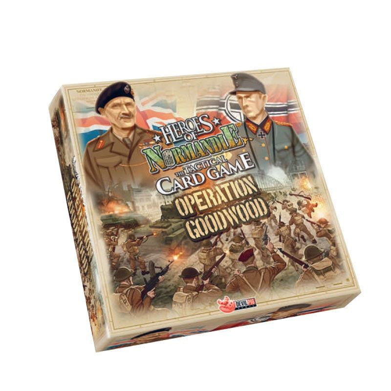 Heroes of Normandie - The Tactical Card Game - Operation Goodwood - IELLO