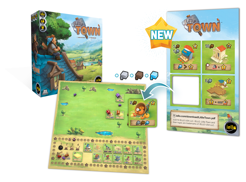 Little Town: Promo Tiles - IELLO
