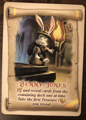 Bunny Kingdom Promo Card Bunny Jones - IELLO