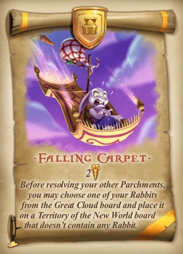 Bunny Kingdom: Promo Card Falling Carpet - IELLO