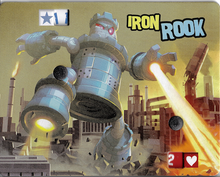 Load image into Gallery viewer, King of Tokyo: Iron Rook Promo Monster - IELLO