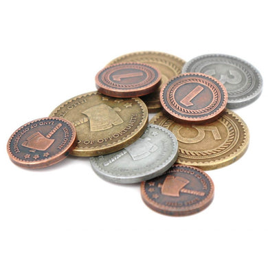 Little Town: Metal Coins