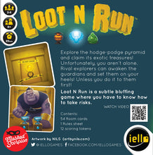 Load image into Gallery viewer, Loot N Run by Scorpion Masque - IELLO