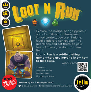Loot N Run by Scorpion Masque - IELLO