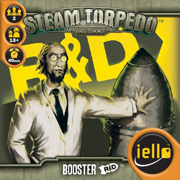 Steam Torpedo: First Contact - R&D Booster - IELLO
