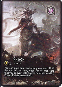 Mythic Battles: Chiron & Heracles Promo Card - IELLO