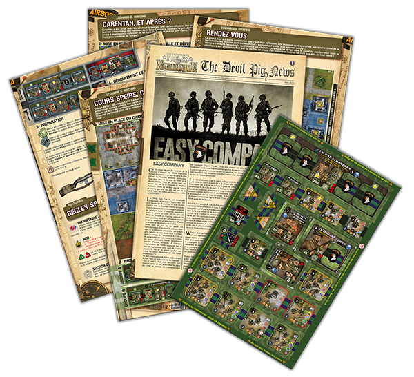 Heroes of Normandie: The Devil Pigs News #3 - IELLO