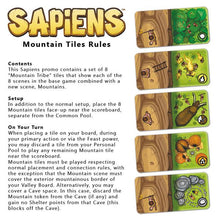 Load image into Gallery viewer, Sapiens: Promo Mountain Tile - IELLO
