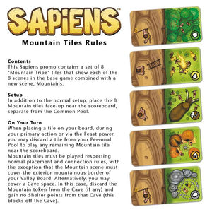 Sapiens: Promo Mountain Tile - IELLO