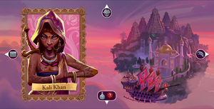 Sea of Clouds: Promo Captain Board Kali Khan - IELLO