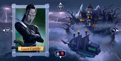 Sea of Clouds: Promo Captain Board Lurch Cassidy - IELLO