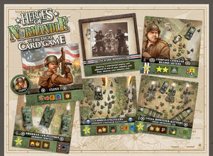Heroes of Normandie - The Tactical Card Game - IELLO