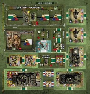 Heroes of Normandie: 4th Armored Division Expansion Pack - IELLO