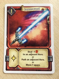 Arena: For the Gods! Promo Card Laser Sword - IELLO