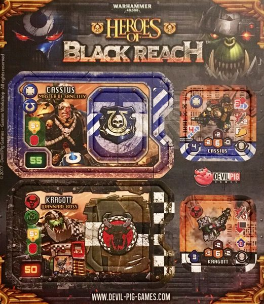 Heroes of Black Reach: Promo Cassius and Kragott - IELLO