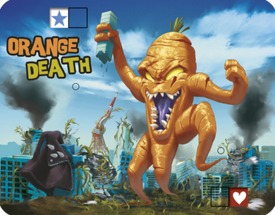 King of Tokyo: Promo Orange Death - IELLO