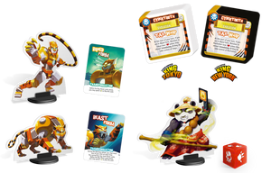 King of Tokyo Monster Pack #4 Cybertooth - IELLO