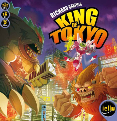 King of Tokyo 1st Edition - IELLO