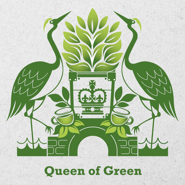 Queen of Green, økologisk te i breve