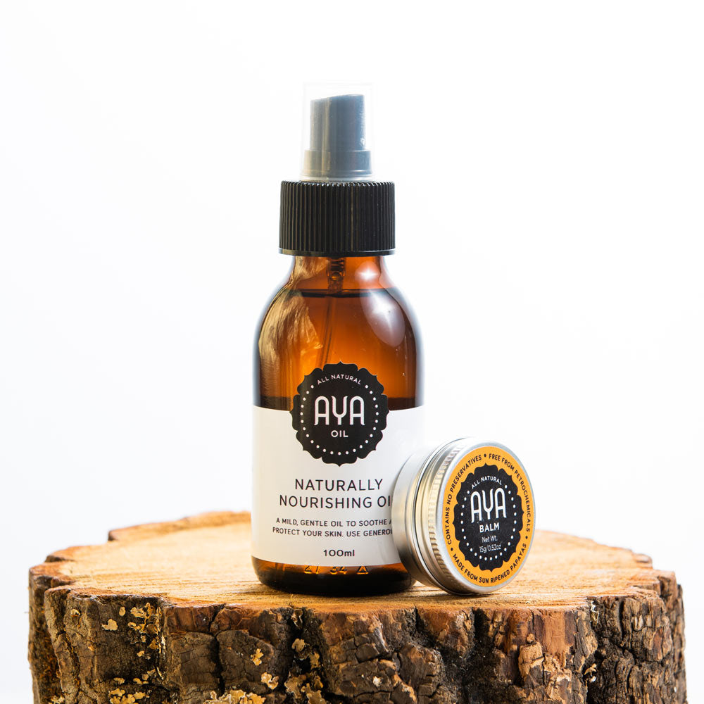 AYA Balm and Naturally Nourishing Oil