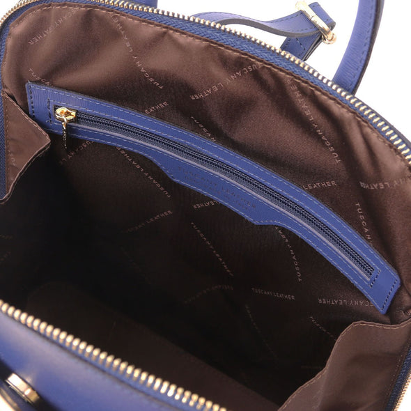 Tl Bag - Saffiano Leather Backpack