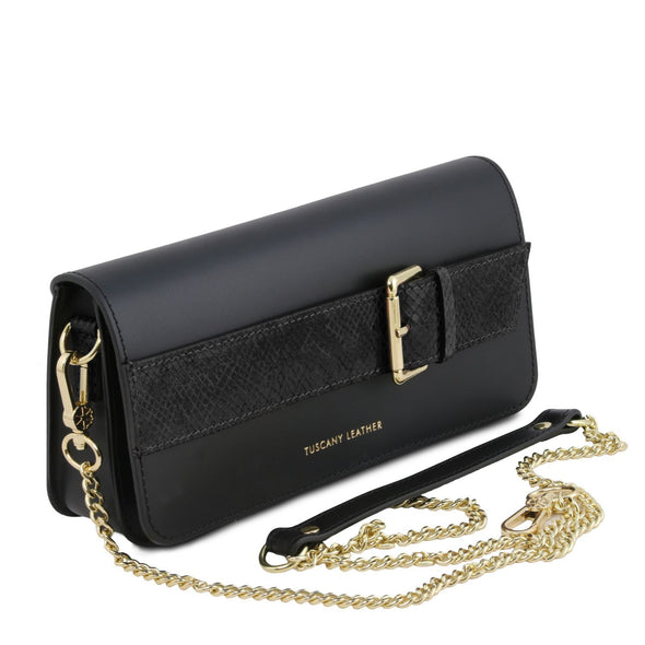 Demetra -   Clutch With Chain Strap