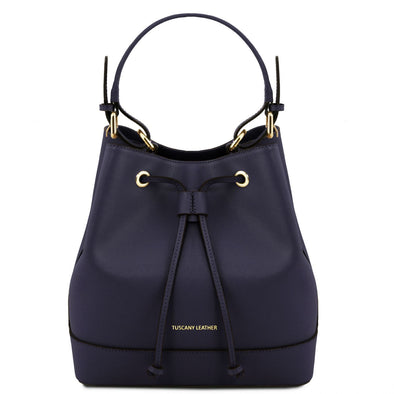 Minerva - Saffiano Leather Secchiello Bag