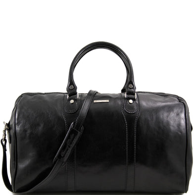 Oslo - Travel Leather Duffel Bag - Weekender Bag
