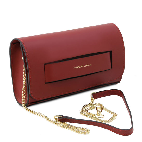 Sophia - Leather Clutch Handbag