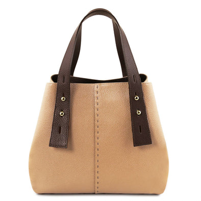 Tl Bag - Leather Shopping Bag