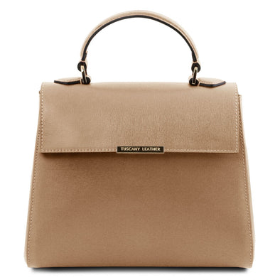 Tl Bag  - Small Saffiano Leather Duffel Bag