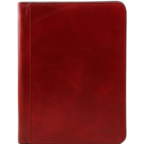 Lucio - Exclusive Leather Document Case With Ring Binder