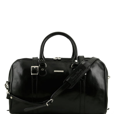 Berlin - Travel Leather Duffel Bag - Small Size