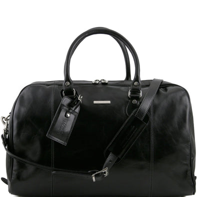 Tl Voyager - Travel Leather Duffel Bag