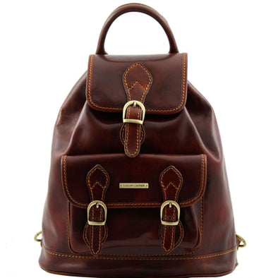 Singapore - Leather - Backpack