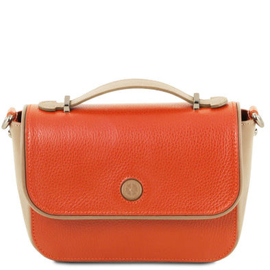 Primula - Leather Clutch Handbag